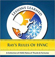 This book is filled with HVAC formulas, rules of thumb, and technical tricks of the trade.