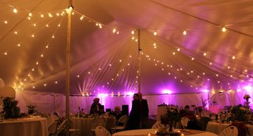 tent string lighting in Decatur Alabama