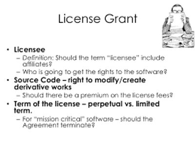 How Is A License Granted Jdi Computer Services Limited