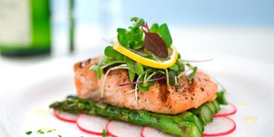 Delicious gourmet food prepared for you with your all - inclusive stay, Petoskey healing retreat getaways,