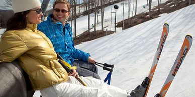 Couple's Ski Packages in Northern Michigan, Romantic Getaways, Romantic Getaways in Michigan.