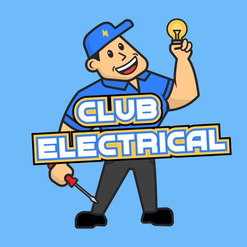 Club Electrical Logo. Electrician in Bristol, Bath and Surrounding Areas.