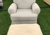 Super comfortable swivel recliner with ottoman  for $499.99