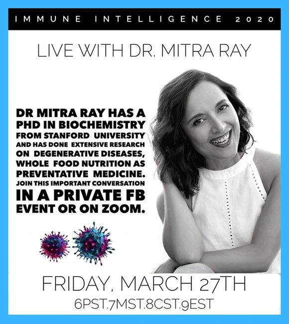 Dr. Mitra Ray and Immune Intelligence