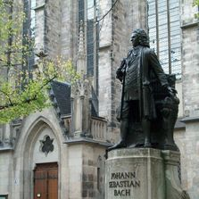 J.S. Bach Statue in Lepzig