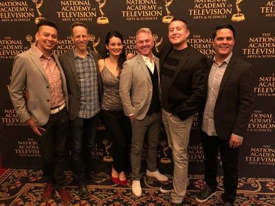 The Elena of Avalor Team at the reception for 2019 Daytime Emmy Nominees. ​