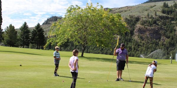 Junior Golf Camp 2018 - Play Day