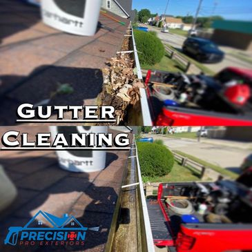Gutter Cleaning.