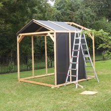 greenhouse built from scratch