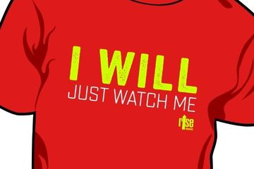 I will just watch me motivational apparel