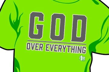God Over Everything christian apparel