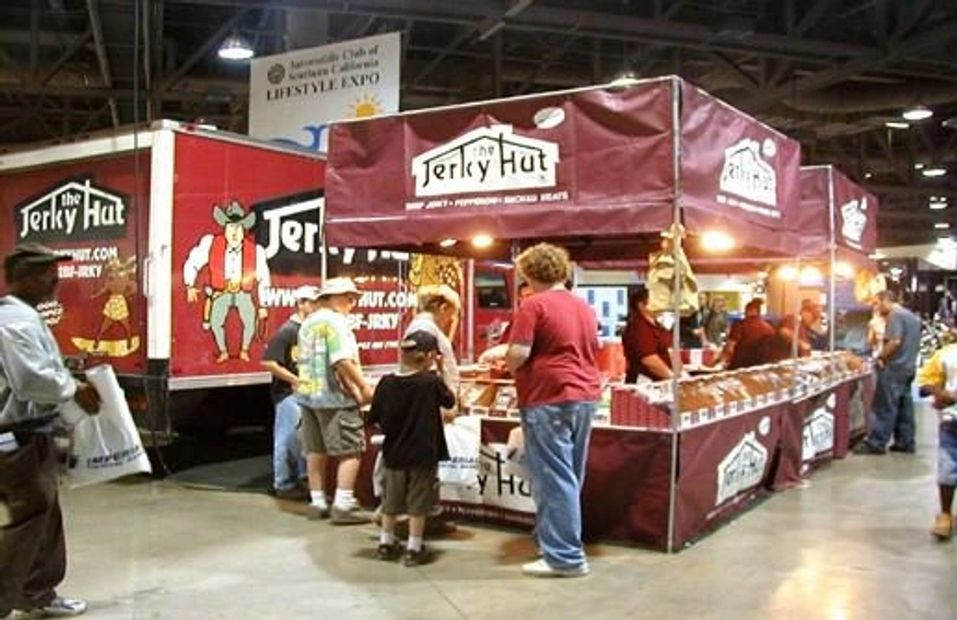 Jerky Hut Booth at events