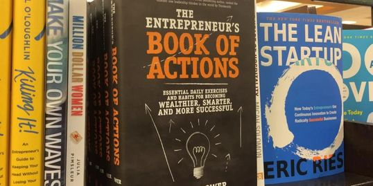 Entrepreneurs Book of Actions, Rhett Power, Jeffrey Hayzlett, McGraw Hill