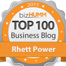 Top Business Blogger Rhett Power
