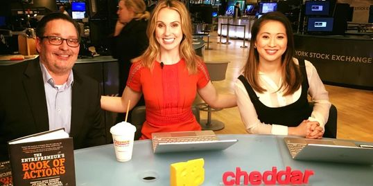 Cheddar TV, Book of Actions, Forbes