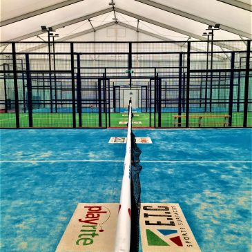View of Stratford Padel Club Courts
