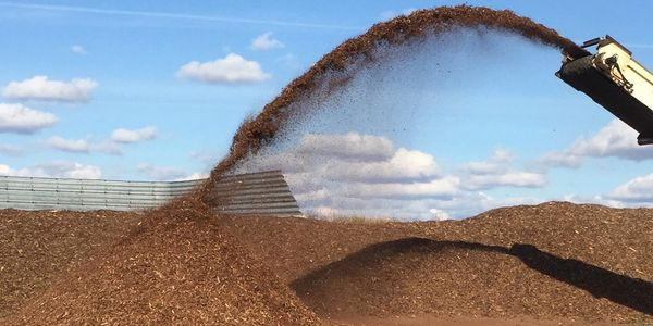 Overton Environmental builds bark compost