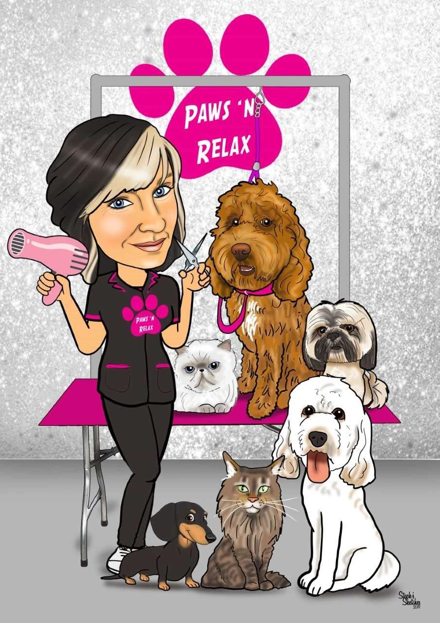 Paws n Relax Luxury Dog and Cat Grooming in Lichfield.