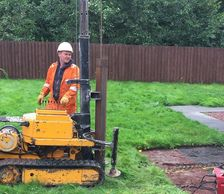 Mini piling, house extensions, sun rooms conservatory, foundation piling