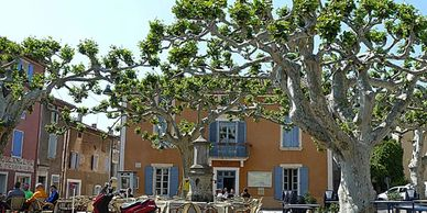Provencal bistros and restaurants