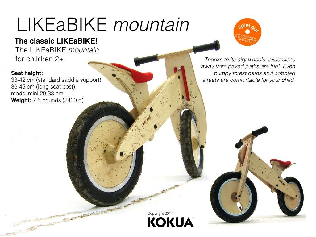Saddle Mud Guard For LikeaBikeKokua Wooden Balance Bikes