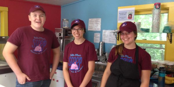 Our scoopers are always ready to help!