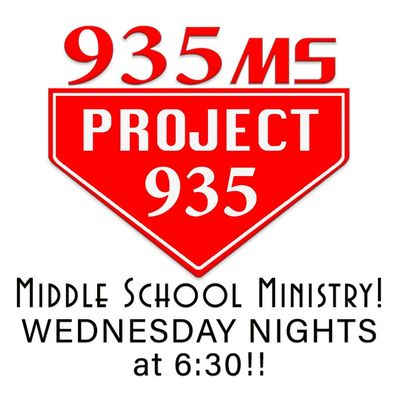 Fort Mitchell Baptist Youth Group Project 935 Middle School logo