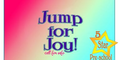 Jump for Joy 5 Star Preschool logo