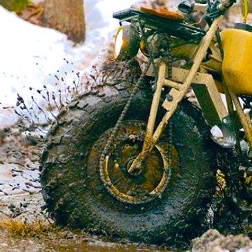 Bob Gallagher slinging mud in Maine!