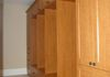 Full Height Mudroom Unit in Cherry