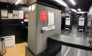 Handgun Instruction in our clean comfortable private indoor range.