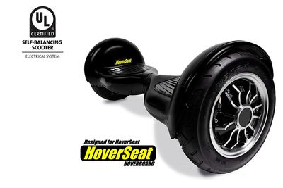 HoverSeat hoverboard designed for safety and durability.