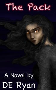 cover image for the kindle book, the pack by Douglas Ryan. vampire werewolf incubus urban fantasy