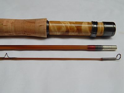 "Custom bamboo fly fishing rod ""Palisades"" 8' 2/2 5wt Fast action  Root River Rod Co Lanesboro"
