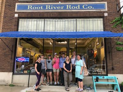 Women's Fly Fishing at Root River Rod Co.
