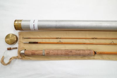 Root River Rod Co Bamboo Fly Rod Garrison 212 E