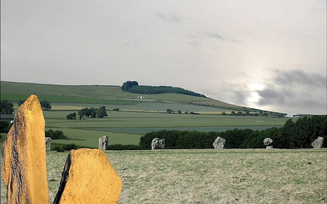 Avebury's equinox looked more like this, 5,000 years ago.
