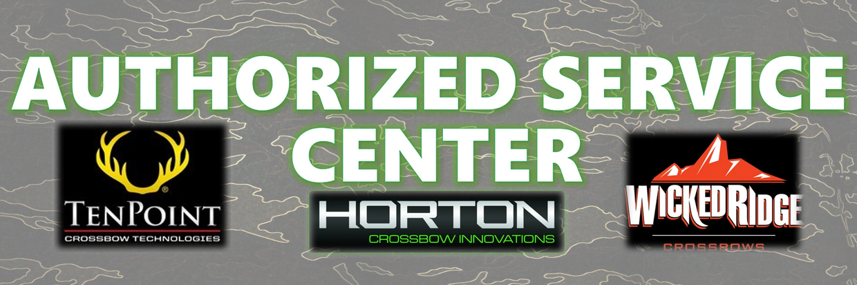Ten Point. Horton. Wicked Ridge crossbows. Authorized service center