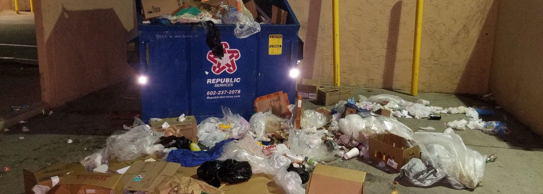 TRASH REMOVAL PHOENIX TRASH PICKUP JUNK REMOVAL TRASH REMOVAL