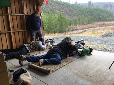F Class shooters at our range