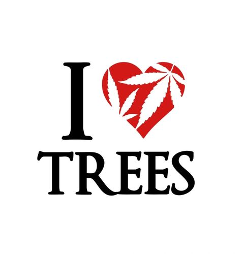 I Love Trees Cannabis Cares Break The Stigma, CBD, Apparel
