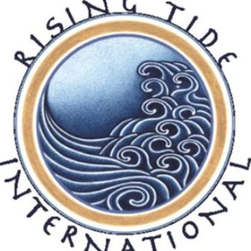 Rising Tide International Spiritual Center Logo.