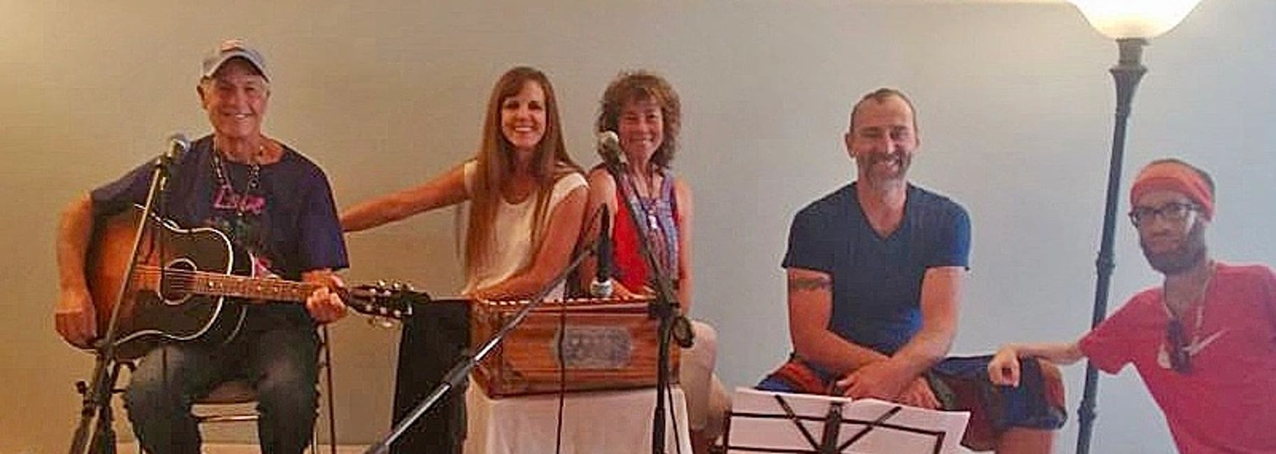 Rockin' Kirtan, the 2nd Sunday of the Month at Rising Tide International, Sarasota.