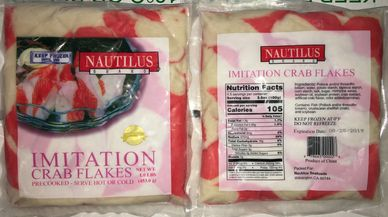 IMITATION CRAB MEAT FLAKE STYLE, SEAFOOD, POLLOCK, FISH, SUSHI, DISTRIBUTOR, ASAIN FOOD, CA SQUID NY