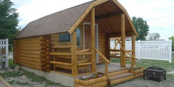 Douglas KOA offers basic camping cabins, tent spots with electricity and full service RV hook ups