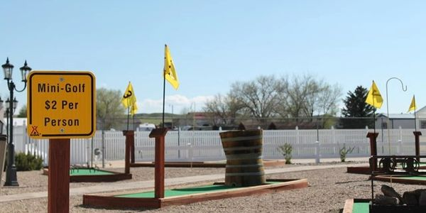 Mini Golf Open Daily $2 per person