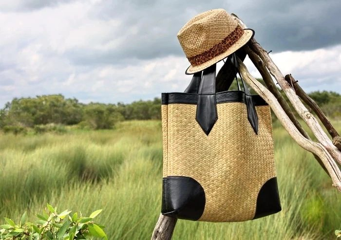 kraft design backpack straw bags modernfashion biodegradable fashion cork leather shoulder handbags