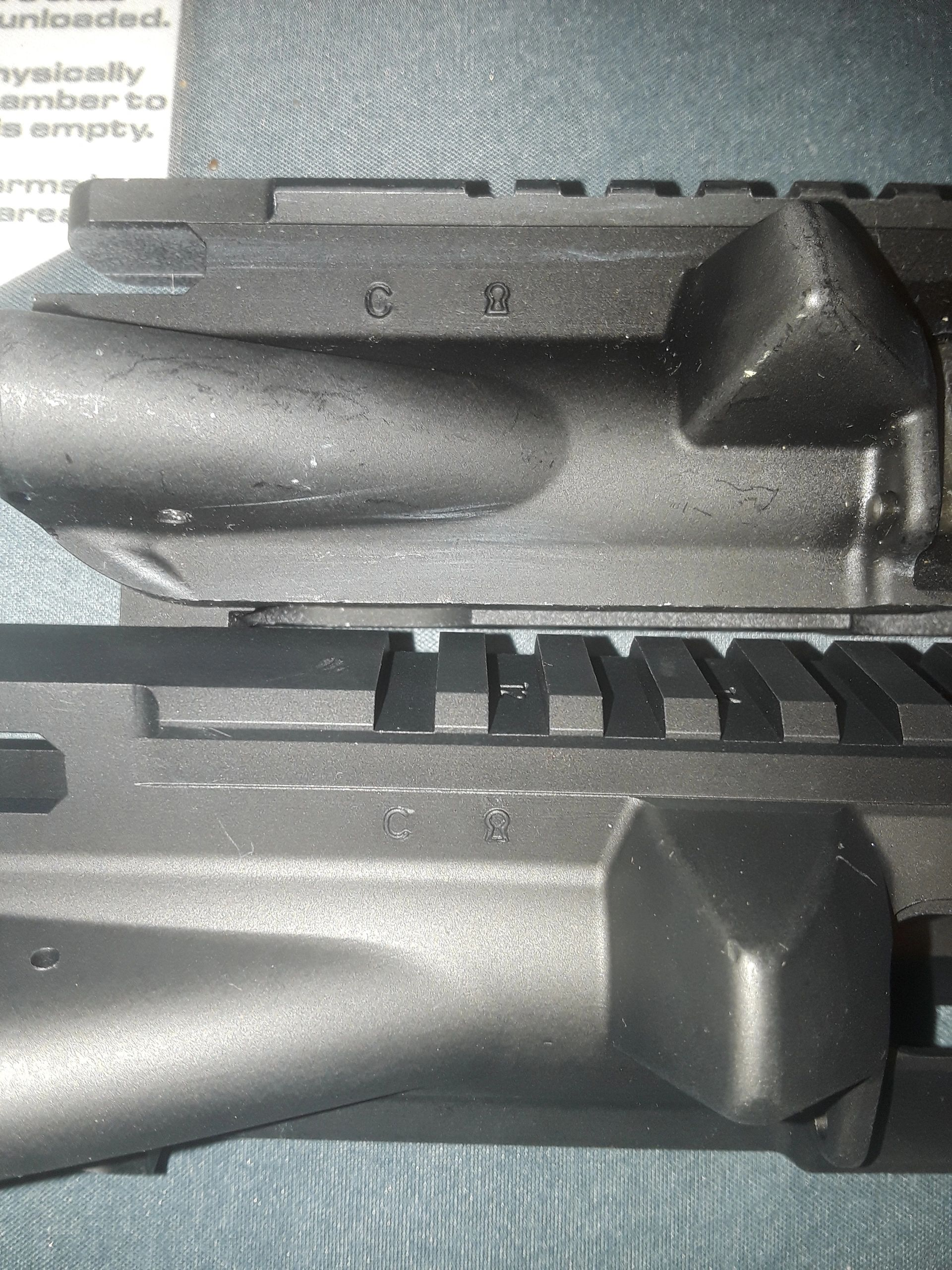 Fake Colt Uppers **BEWARE**