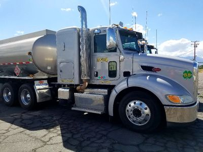 Diesel fuel trucking