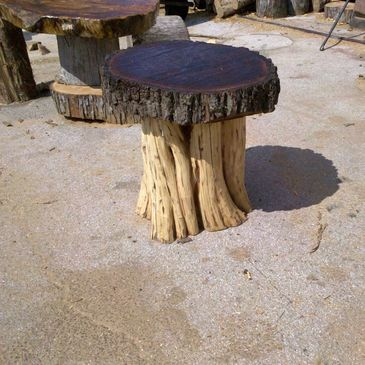 Slice Table that would look beautiful in your home or Cabin